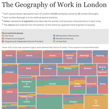 The Geography of Work in London